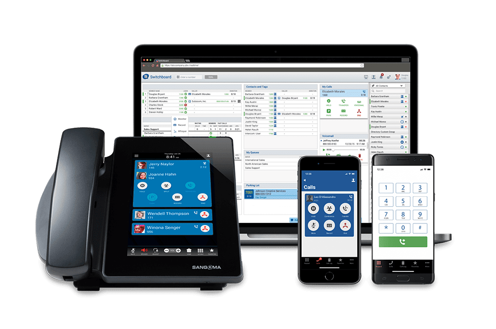 Sangoma switchvox digital telephones